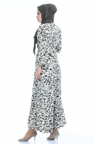 Khaki Hijap Kleider 2016-02