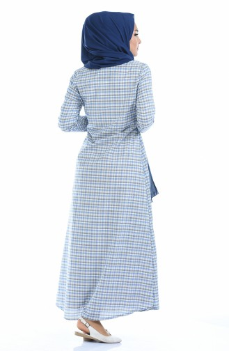 فستان أزرق 1269-01