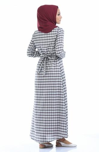 فستان بُني 1271-01