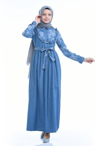 Robe Jean Forncée 4054-01 Bleu Jean 4054-01