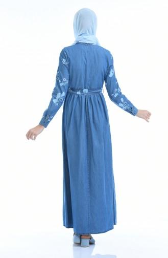 Robe Jean Forncée 4054C-01 Bleu Jean 4054C-01