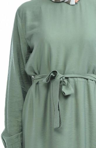 Robe a Ceinture Tissu Aerobin 1958-02 Vert 1958-02