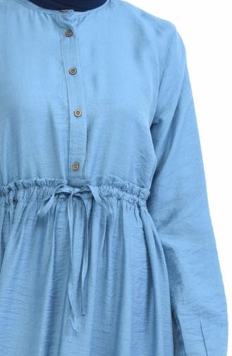 Indigo Dress 1959-01