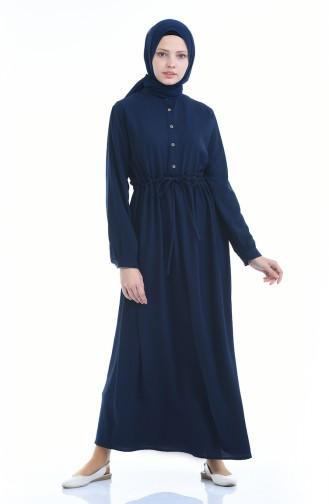فستان أزرق كحلي 1959-04