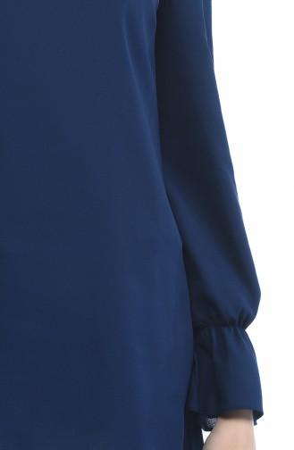 Tunique Manches élastique 40008-01 Bleu marine 40008-01