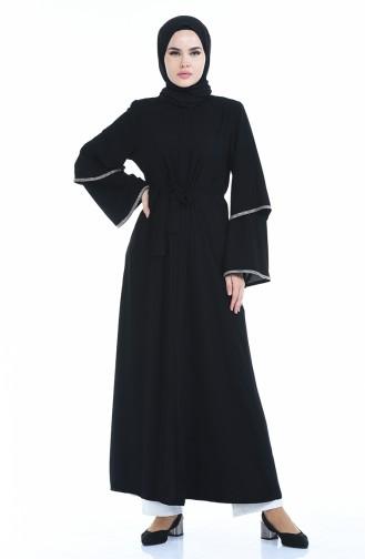 عباءه أسود 8351-01