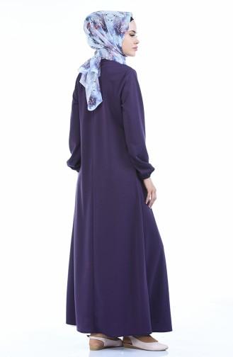 A Plissee Kleid 8380-02 Lila 8380-02