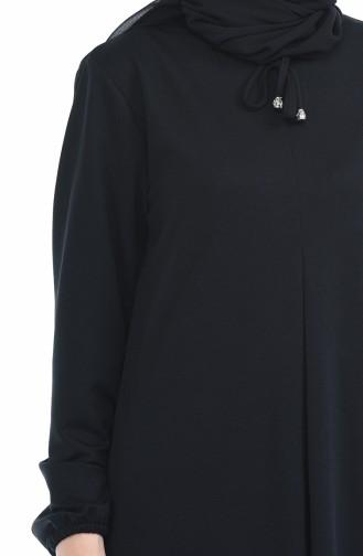 فستان أسود 8380-04
