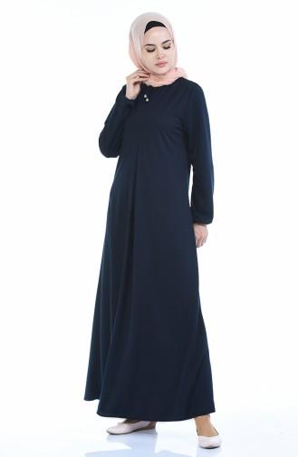 Navy Blue Dress 8380-05