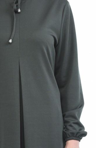 Robe Manches élastique 8380-06 Khaki 8380-06