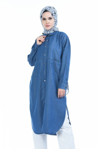 Jeans Blue Tunic 6240-06