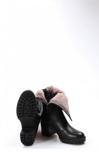Schwarz Stiefel 407KZA2116-16777229