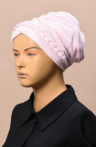 Bonnet Plissé 1046-08 Rose Poudre 1046-08