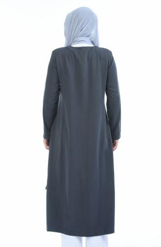 Light Black Abaya 0365-03