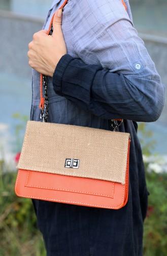 حقيبة كتف برتقالي 65-20