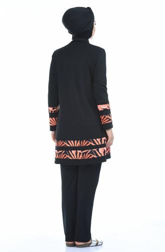 Black Swimsuit Hijab 1973-01