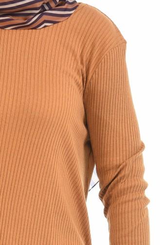 Ensemble Deux Pieces Tunique Pantalon 3309-26 Tabac 3309-26