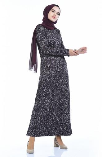 فستان أرجواني 8837-02