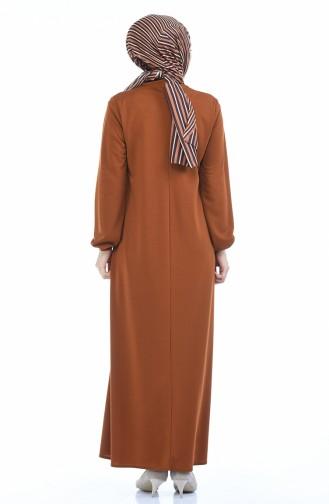 Tobacco Brown Dress 8370-10
