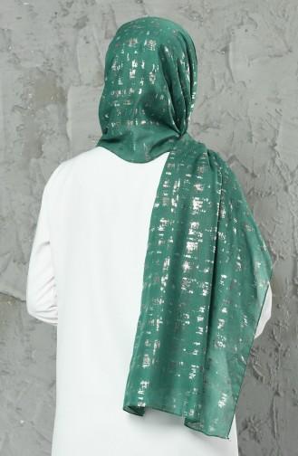 Châle 26006-16 Vert Foncé 26006-16