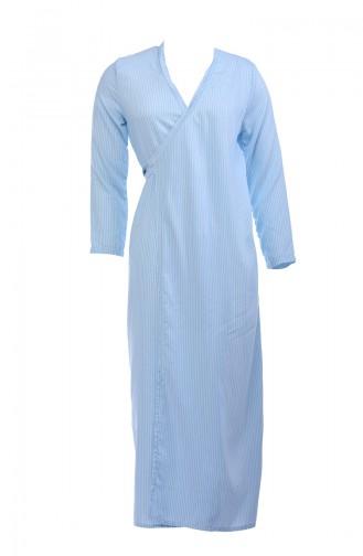 Ensemble de robe de prière pour enfant GL1105-01 Bleu 1105-01