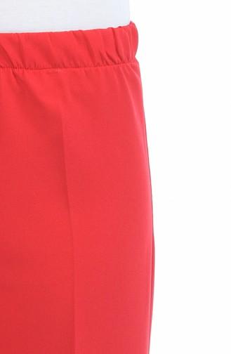 بنطال أحمر 0892-05