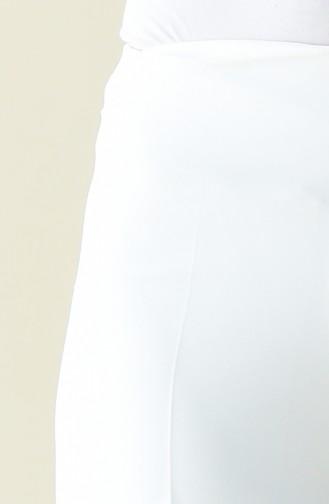 Schlaghose mit versteckter Reissverschluss 0893-02 Naturfarbe 0893-02