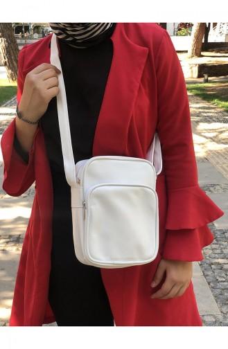 White Shoulder Bag 24-02