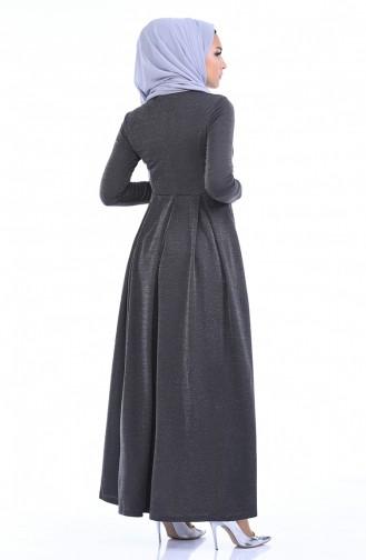 Smoke-Colored Hijab Dress 1952-06