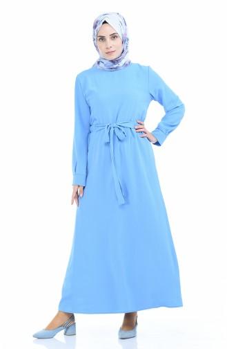 فستان أزرق 1284-05