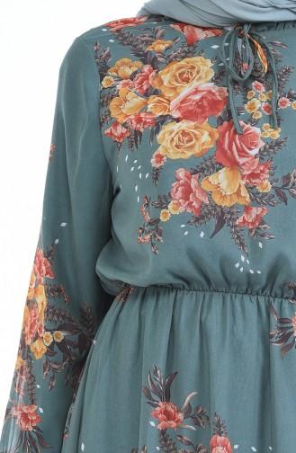فستان أخضر 1291-03