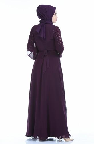 Purple İslamitische Jurk 12004-07