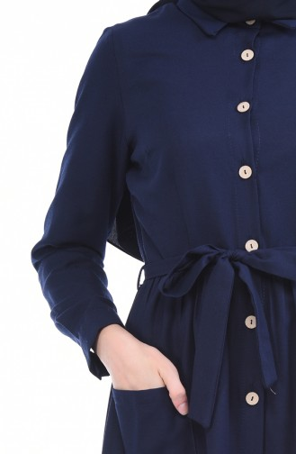 Navy Blue Dress 4286-01