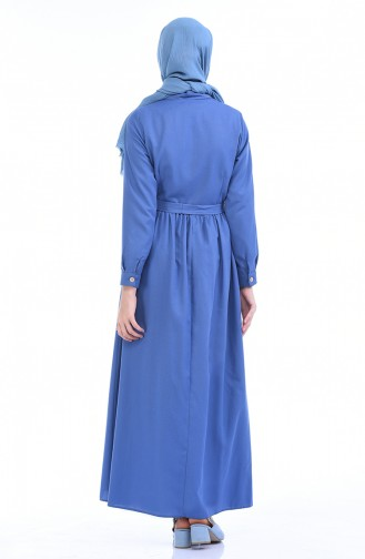 Indigo Dress 4286-04