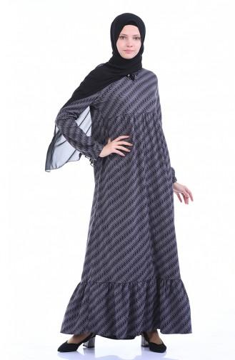 Robe Froncée 1266-02 Vison 1266-02