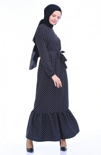 فستان أزرق كحلي 1011-01