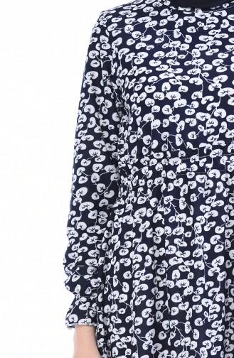 فستان أزرق كحلي 5486-04