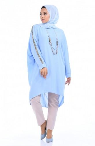 تونيك أزرق ثلجي 1039-01