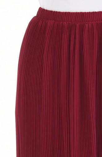 Claret red Skirt 5273-01