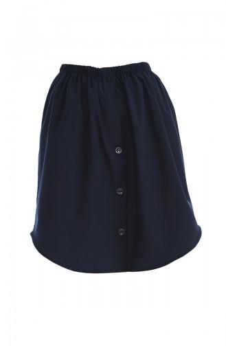 Navy Blue Skirt 128-04