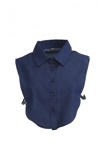 Jeans Blue Overhemdblouse 118-06