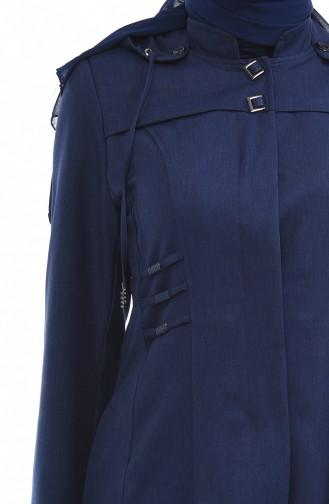 Navy Blue Mantel 1065-06