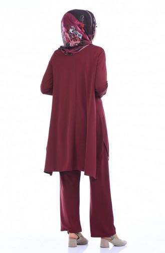 Claret red Sets 2237-08
