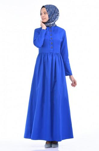 Robe 7215-16 Bleu Roi 7215-16