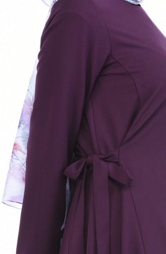 Robe Attacher de Côté 0249-04 Pourpre 0249-04