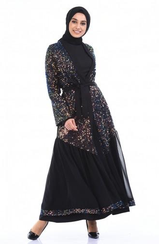 Black Abaya 61275-04