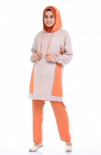 طقم برتقالي 6574A-01