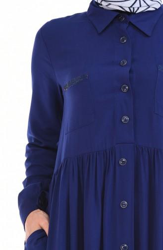 Light Navy Blue Dress 99208-06