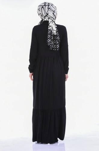 فستان أسود 99208-07