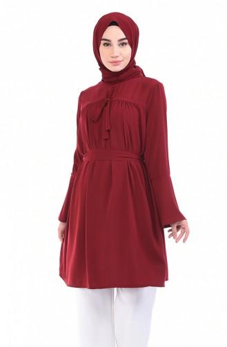 Claret red Tunic 0120-03